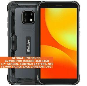 "BLACKVIEW BV4900 PRO Rugged 4GB 64GB Waterproof 5.7"" Fingerprint Android 10 NFC"