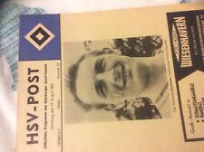 1963 HSV HAMBURGER V ARSENAL RARE FRIENDLY
