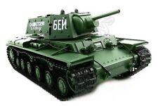 2.4Ghz Radio Control 1/16 Russian KV-1 Airsoft Battle Tank w/Smoke & Sound RC
