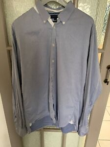 Tommy Hilfiger Mens XL Stunning Light Blue  Longsleeve Shirt