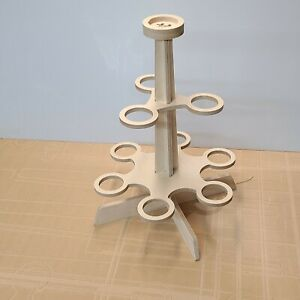 Tabletop Unfinished Tree Display for Glassybaby Candle Votive UNASSEMBLED