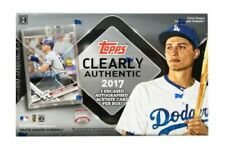 2017 TOPPS CLEARLY AUTHENTICS & ARCHIVES SIGNATURE BASEBALL HOBBY SEALED BOXES