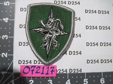 NATO CENTAG PATCH Central Army Group Europe excellent Heidelberg Germany
