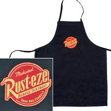 Disney's Cars Rust-eze Logo Black 100% Polyester Children's Apron Bib, Multi-Use