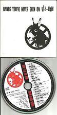 RARE PROMO CD  SHAKESPEAR'S SISTER Dog's D'amour WONDERSTUFF John Moore PERE UBU