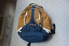 Jansport Backpack Backpac Blue Brown White