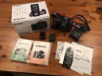 Canon EOS 60D 18.0MP Digital SLR Camera Body Only *** Please Read