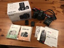 Canon EOS 60D 18.0MP Digital SLR Camera Body Only *** Please Read