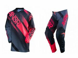 Ansr Answer MX Motocross Enduro Dirt Bike Quad Jersey/Pant Kit Adult 34