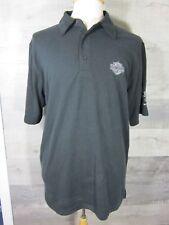 Harley Davidson Polo Shirt Sz M Short Sleeve Shirt Black Suburban Motors