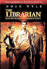THE LIBRARIAN - RETURN TO KING SOLOMONS MINES DVD NEW SEALED FREEPOST