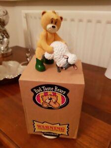 BAD TASTE BEARS' COLLECTABLE BEAR FIGURINE 'EWAN' BOXED!