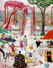 Stettheimer Florine Sunday Afternoon In The Country Print 11 x 14 # 3539
