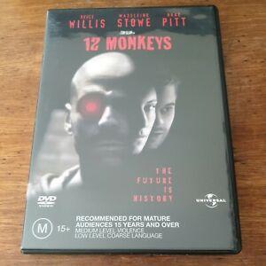 12 Monkeys DVD R4 Like New! FREE POST