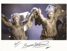Sarah Madison weeping angel Doctor Who hand signed photo with COA UACC & AFTAL