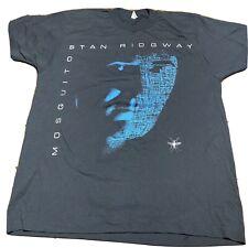 Vintage Stan Ridgway Mosquitos Tour Shirt 80s Large