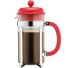Bodum Caffettiera French Press Coffee Maker - Red - 1.0 Litres - 8 Cup Capacity