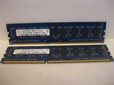 *NICE* HYNIX 4GB DDR3 (2X 2GB) 2RX8 PC3 8500U 1066  Desktop Memory Ram
