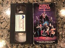 Puppet Master 4 Vhs! 1993 Horror! Demonic Toys 2 Dolls Dead Silence Devil Doll