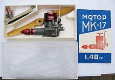 Vintage USSR NEW Aircraft Airplane diesel MK- 17 Compression Engine NEW