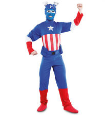 Costume Capitan America  Super Eroe Tg da 52 a 54
