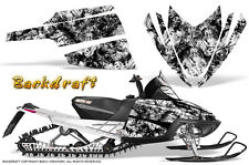 ARCTIC CAT M CROSSFIRE SNOWMOBILE SLED GRAPHICS KIT WRAP CREATORX BDW
