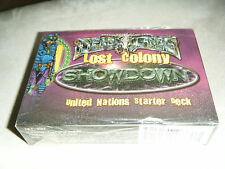 2000 PINNACLE DEAD LANDS LOST COLONY SHOWDOWN UNITED NATIONS STARTER DECK CHAP 1