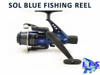 2 x Lineaeffe Sol Float / Spinning Fishing Reel With Line BLUE Fishing Reels