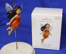 Hallmark Series Ornament Fairy Messengers #8 2012 Tiger Lily Fairy Nib Free Ship