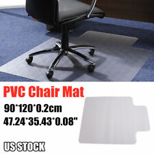 "Desk Chair Mat Carpet Rug Laminate Floor Protector PVC Plastic Spike 48*36"" US"