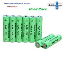 New Alkaline AAA Battery 2100mah 1.5V Pack of Rechargeable Batteries 1-20Pcs lot