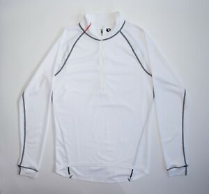 Pearl Izumi PRO Series Jersey Long Sleeves Cycling Bicycling White Rare Men's L