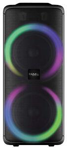 IBIZA RAINBOW1000 Mobile Sound Anlage Bluetooth USB MP3 Box Lautsprecher LED