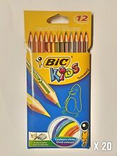 20 X 12 BIC KIDS COLOURING PENCILS | STATIONERY & SCHOOL EQUIPMENT