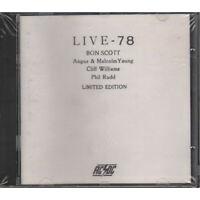 Ac/Dc Cd Live 78 - Bootleg Limited Edition / Men At Work  Work 5514.2 Sigillato