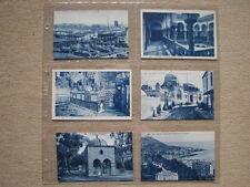 ALGERIE / ALGER - LOT 6 CARTES POSTALES ANCIENNES BLEUES