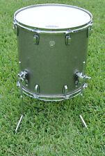 "Ludwig 16"" KEYSTONE USA X FLOOR TOM in TITANIUM SPARKLE for YOUR DRUM SET! #D241"