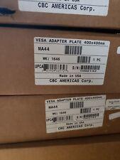 MA44 VESA MOUNT ADAPTOR 400X400 mm OR 200X200 CBC AMERICAS NEW On Hand