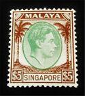 nystamps British Malaya Singapore Stamp # 20 Mint OG NH $180 F26y2526