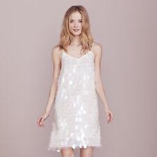 LC Lauren Conrad Women's Dress Up Shop Collection Paillette Shift Dress Size XS