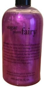 Philosophy Sugar Plum Fairy 16 Oz 3 In 1 Shower Gel - Bubble Bath And Shampoo