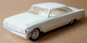 Vintage 1961 Ford Sunliner White 2 DR Coupe Promotional Car