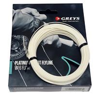 Greys Fly Fishing Floating Line Platinum Shoot White