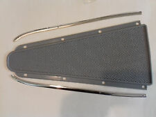 VESPA SPRINT RALLY SUPER GREY FLOOR CENTER MAT AND STAINLESS STEEL TRIMS