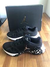 Nike Jordan Trunner LT Mens Size 10.5 Shoes Ci0058 001 Metallic Black
