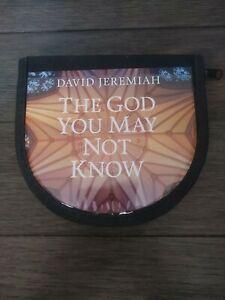 David Jeremiah The God You May Not Know 10 CD Sermons + Bonus