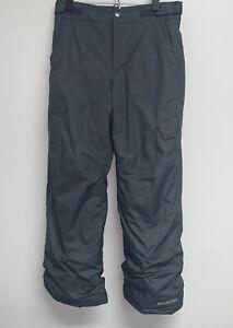 Columbia Youth Boys Girls Ski Snow Pants Size M Gray Outgrown