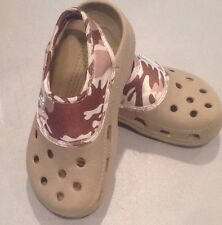 Youth 10 11 Khaki Crocs