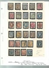 Austria Collection of Perf Varieties and Cancels, Fine Lot For Study
