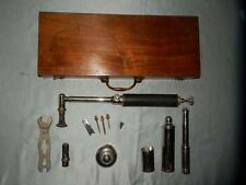"ANTIQUE ""Veterinary's Horse Firing Kit"" (By ARNOLD & Son) In Original Case."